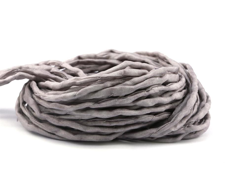 2.05 EURpchand hand dyed Habotai silk ribbon Stone /'3mm silk cord 100/% pure silk H3M20264U