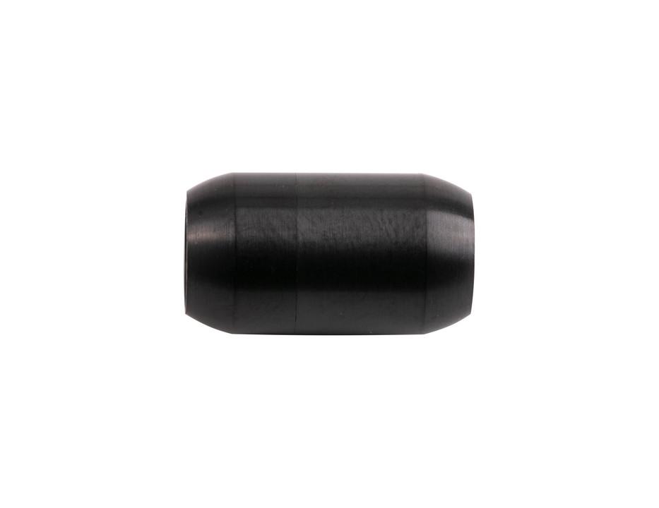 matt Leder ID 8mm 21x12mm Edelstahl Magnetverschluss rose gold gebürstet